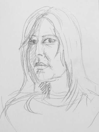 Self portrait sketch c
