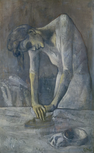 Woman Ironing ~ Pablo Picasso - 1904
