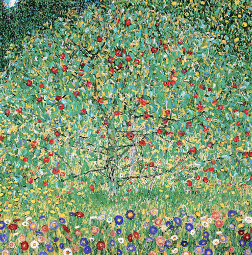'Apple Tree I' Klimt 1912