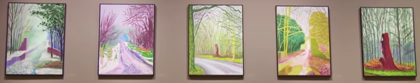 David Hockney's Landscapes