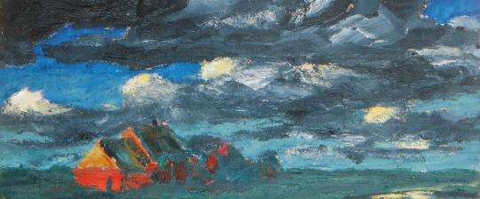 Emil Nolde landscape a