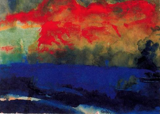Emil Nolde Landscape c