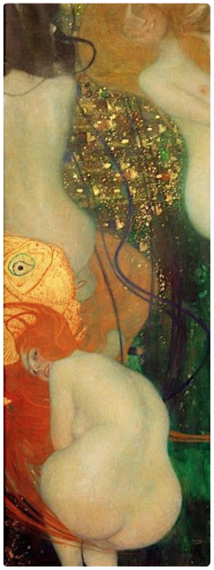 'Gold Fish' ~ Gustav Klimt 1901-02