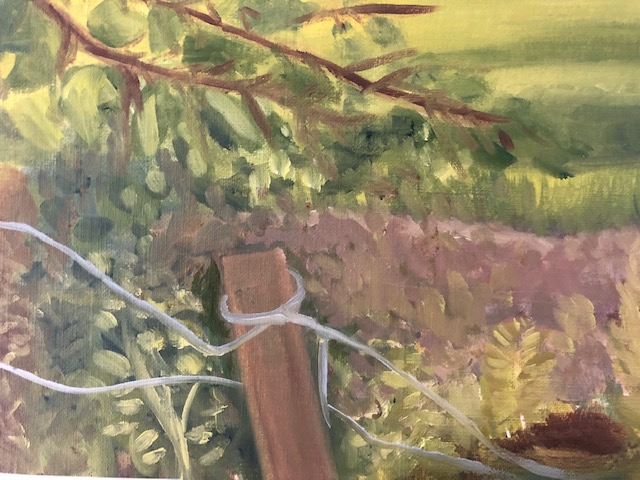 PAinting outside detail a