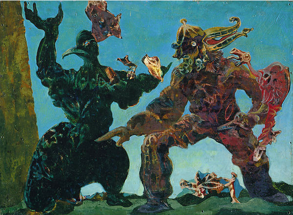 The Barbarians ~ Max Ernst 1937