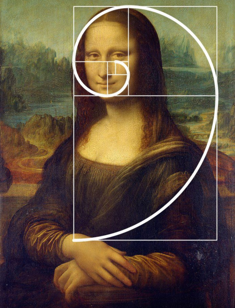 The Golden Cirle and golden ratio example