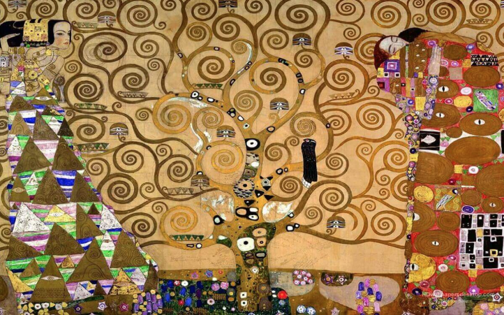 The Tree of Life ~ Gustav Klimt 1905