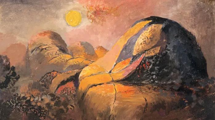 'Western Hills' 1941 ~ Graham Sutherland