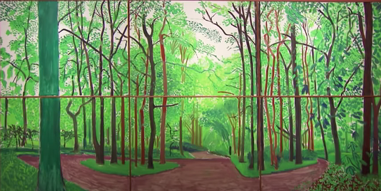 Woldgate Woods ~ David Hockney 2006