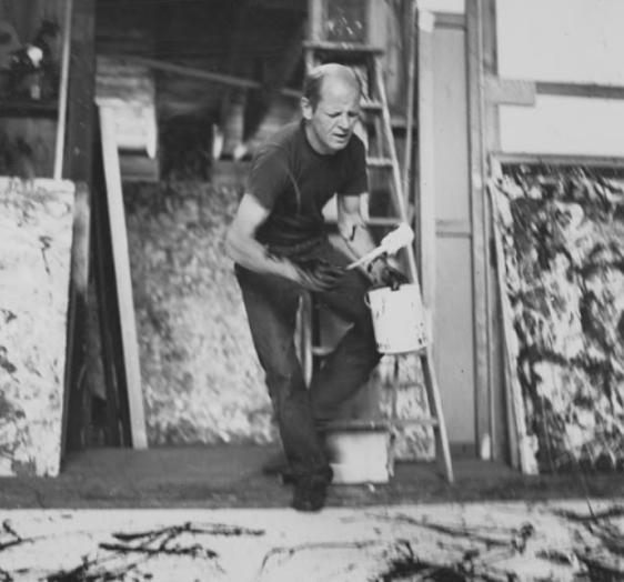 Jackshon Pollock - studio