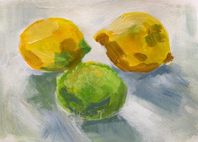 Lemons bristle brush