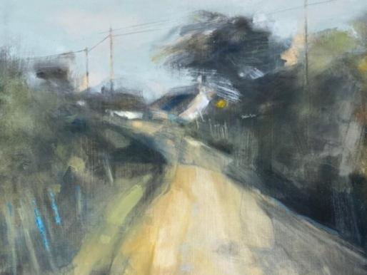Hannah Woodman ~ Dappled Shadows, Cornish Lane 2020