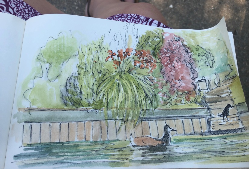 Henley watercolour sketch
